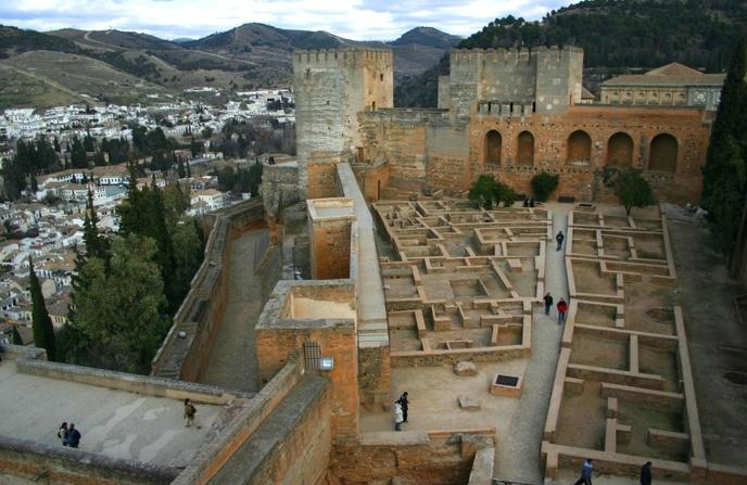 ciudadela alcazaba