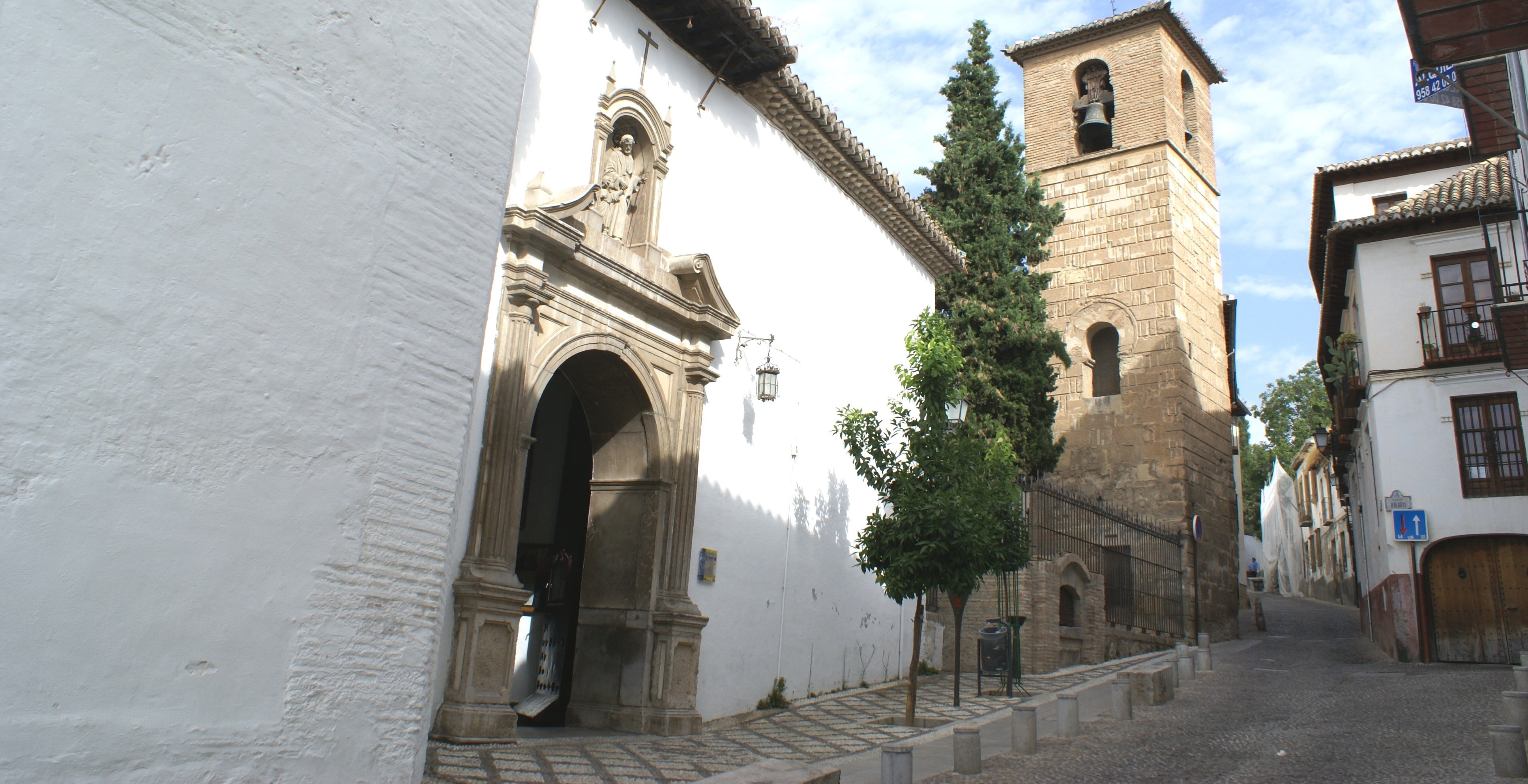 Be sure not to miss the church of San José in the Albaicín
