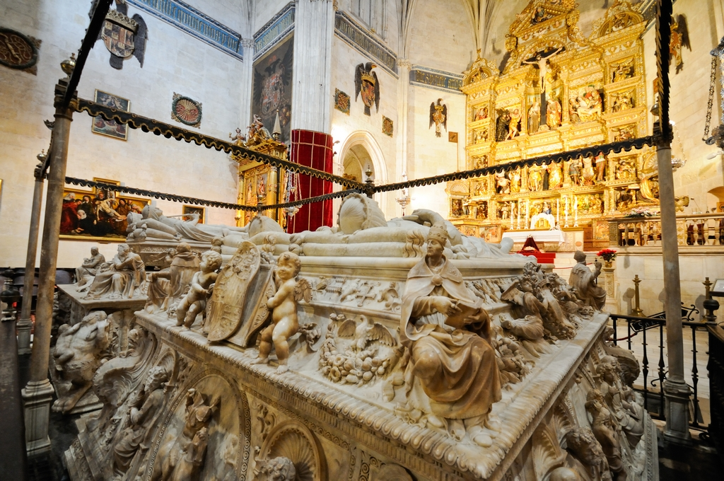Visit the Royal Chapel where the Catholic Monarchs are buried in Granada