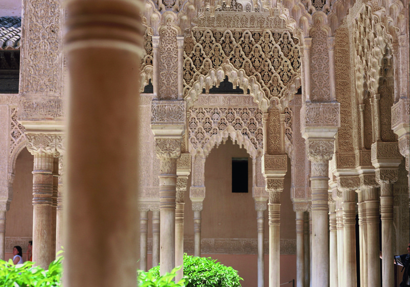 The Alhambra of Granada, a masterpiece of Arab art in Europe